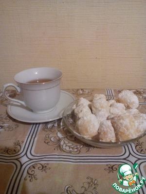 Печенье Снежок тает во рту рецепт с фото - 1000.menu
