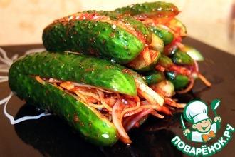 Рецепт: Кимчи из огурцов Ои Собаги