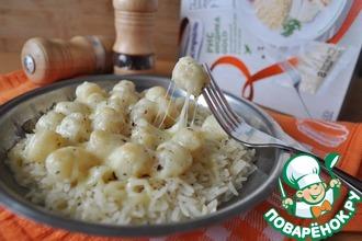 Рецепт: Гребешок в сливочно-чесночном соусе