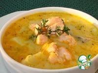 Финский лососевый суп со сливками Лохикейтто ингредиенты