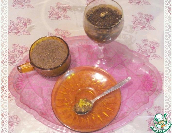 Рецепт: Суфле шоколадно-гречневое Необычное