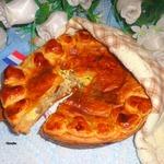 Винный пирог по-эльзасски