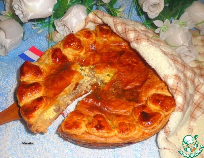 Рецепт: Винный пирог по-эльзасски