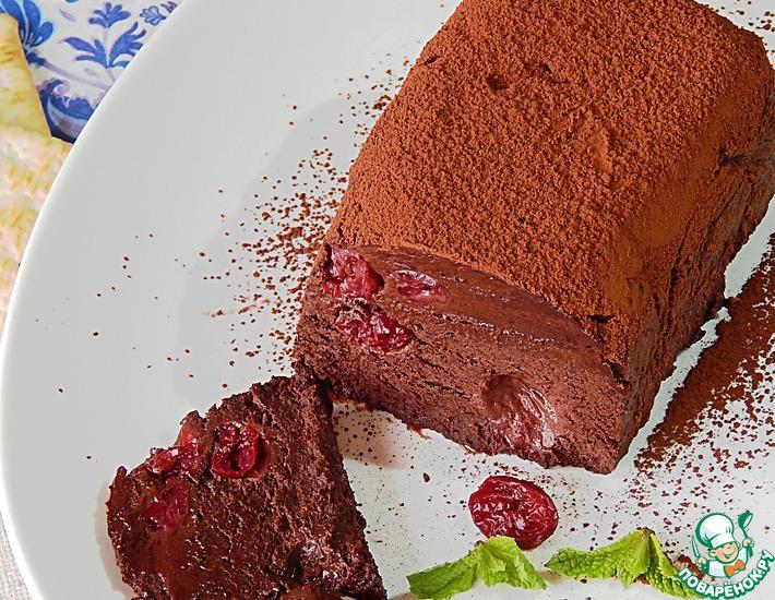Рецепт: Шоколадная помадка от Франсиса Глотона