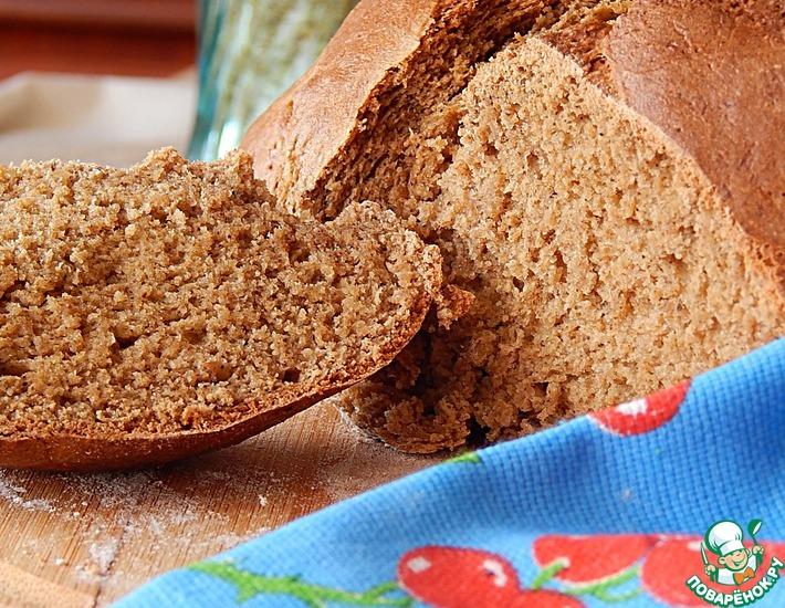 Рецепт: Бездрожжевой овсяной хлеб