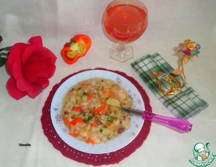 Рецепт: Рагу овощное с болгарским перцем