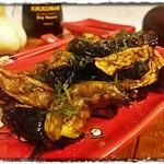 Баклажаны в соево-имбирной карамели