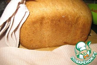 Рецепт: Деревенский хлеб