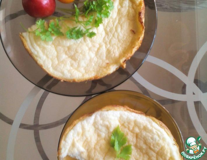 Рецепт: Классический французский омлет-суфле