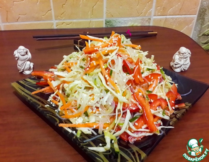 Рецепт: Салат по-китайски Харбинский