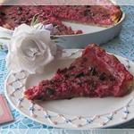 Тарт с малиново-сливочным кремом