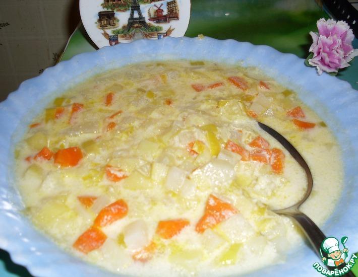 Рецепт: Суп по-нормандски