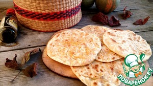 Tortillas with chicken-vegetable filling