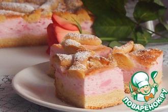 Рецепт: Малиновое пирожное Сказка