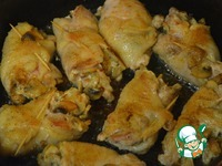 Куриные бёдра с грибами в соусе ингредиенты