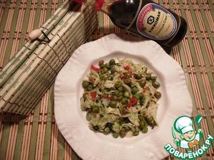 Рецепт Гарнир из китайской капусты с мятой