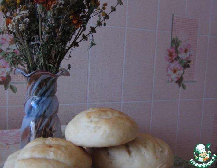 Рецепт: Быстрый луковый хлеб