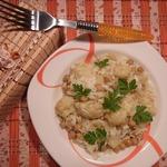 Рис с овощами карри