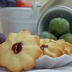 Страсбургское печенье со сливовым джемом
