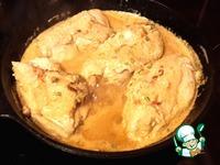 Тушеное куриное филе ингредиенты