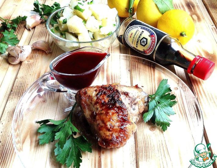 Рецепт: Курица Ткемали