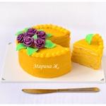 Тыквенный торт Мильфей