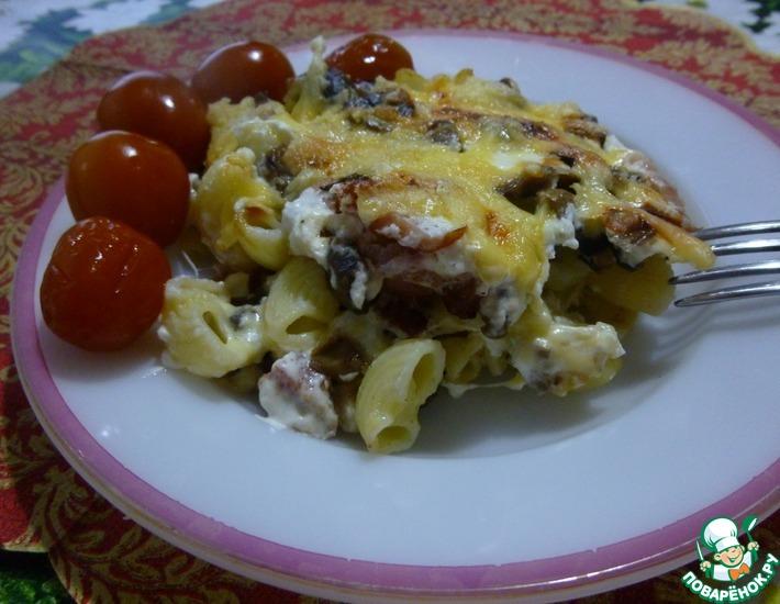 Рецепт: Макароны Шаляпинские