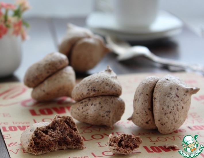 Рецепт: Печенье Поцелуй в диафрагму