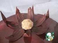 Торт Одинокий цветок ингредиенты