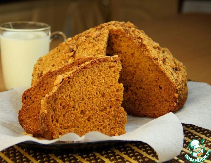 Рецепт: Быстрый медовый пирог