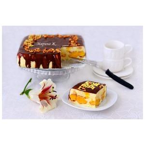Эклерный торт-десерт