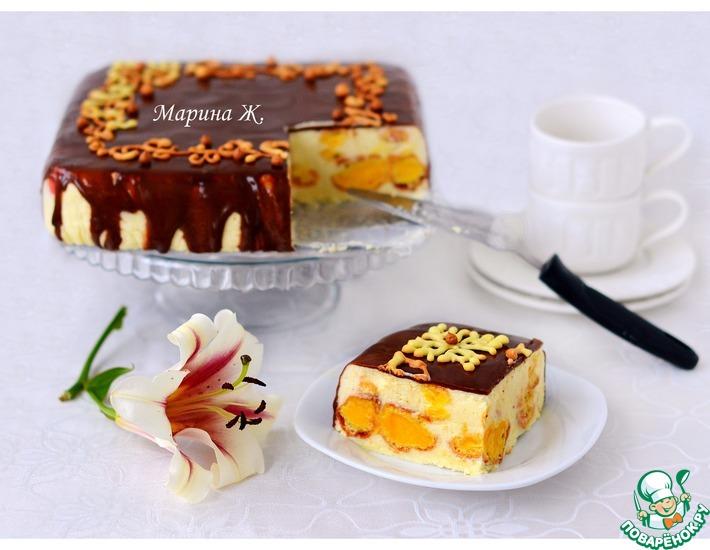 Рецепт: Эклерный торт-десерт