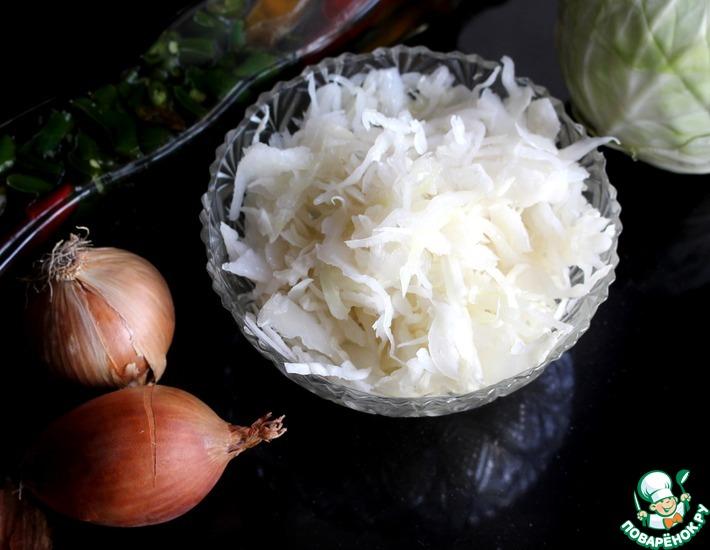 Рецепт: Квашеная капуста без моркови