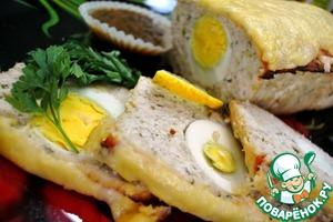 Рецепт Митлоф с вареными яйцами