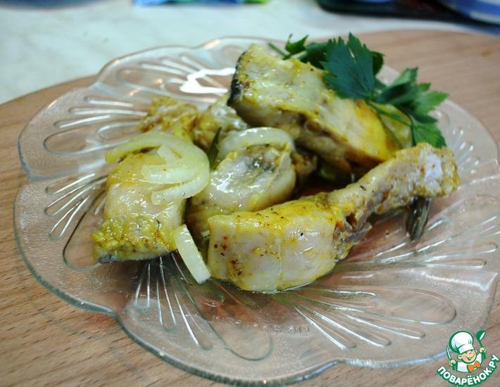 Рецепт: Маринованный толстолобик Пикантный