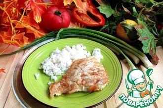 Рецепт: Филе рыбы в картофельно-сырном кляре