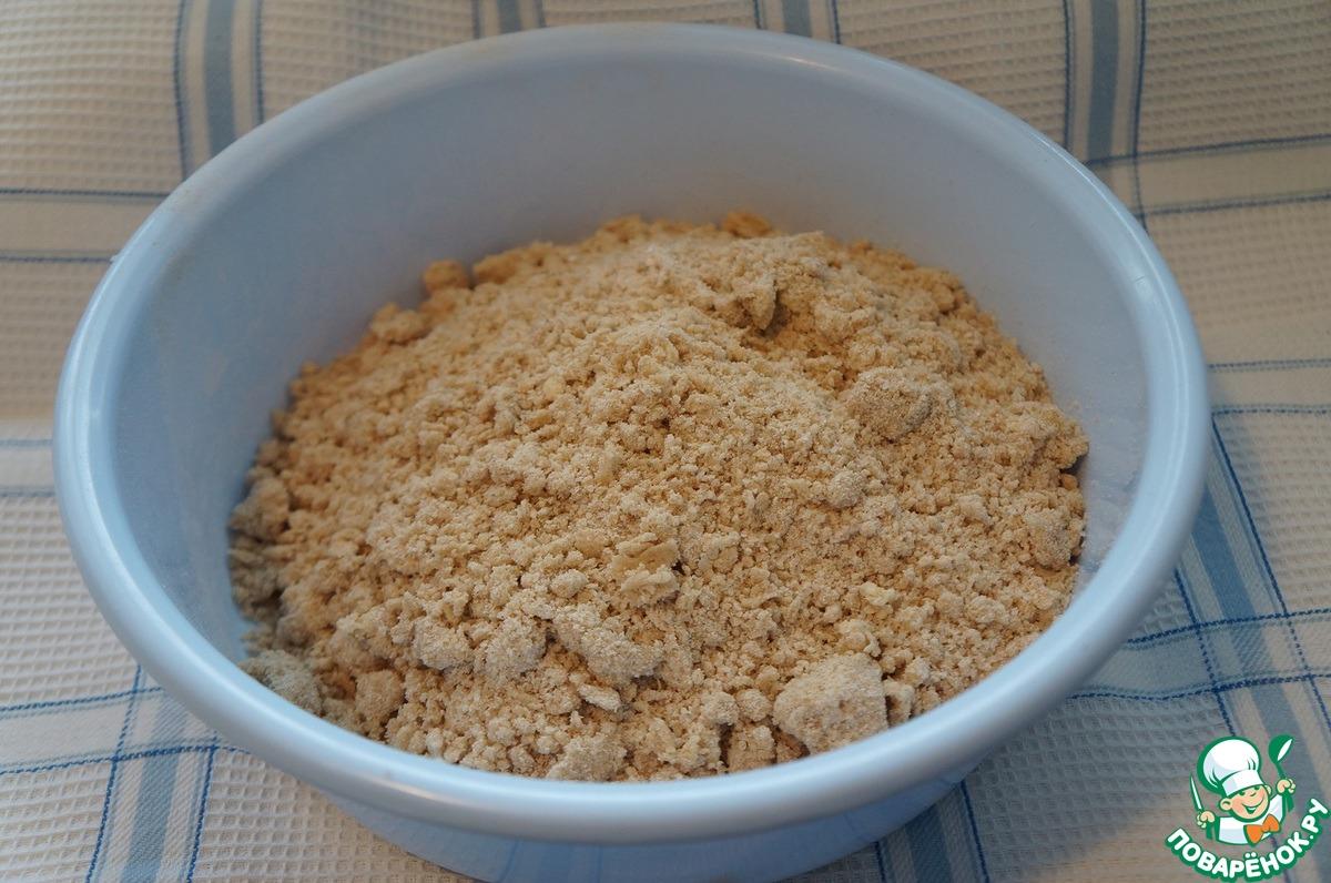 Гречневое печенье с маком