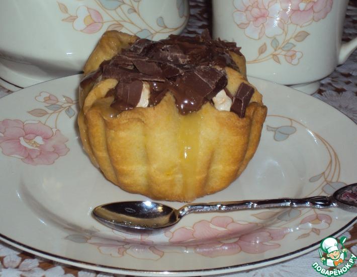 Рецепт: Пирожные-корзиночки «Шёпот ангелов»