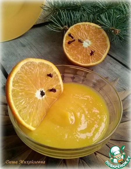 Клюквенный и апельсиновый курд без масла