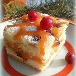 Пирожное Клюква в квадрате