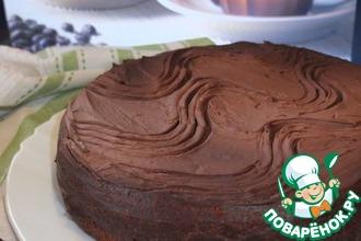 Рецепт: Шоколадно-кофейный торт
