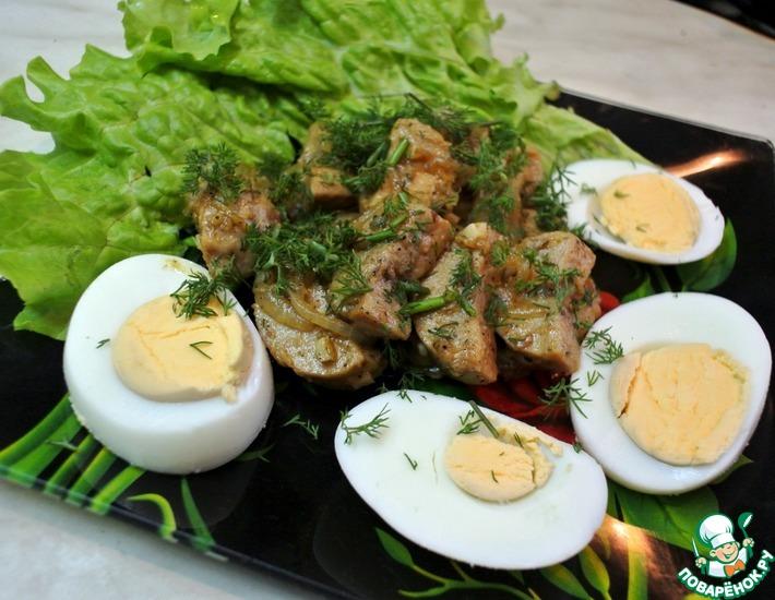 Рецепт: Бычьи яйца