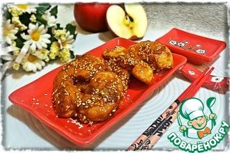 Рецепт: Яблоки в карамели