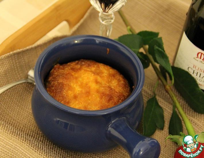Рецепт: Суфле из грибов и шпината
