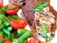 Лангет из говядины в луковом соусе ингредиенты