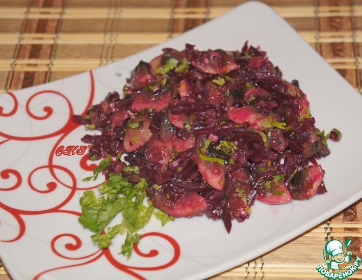 Салат из грибов и свеклы на зиму — pic 6