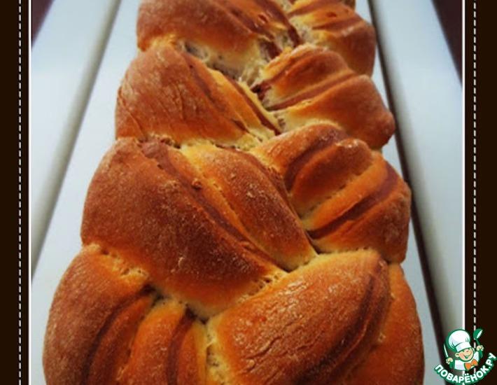 Рецепт: Мраморный хлеб