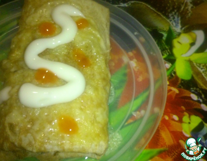Рецепт: Мексиканское буритто на домашний лад