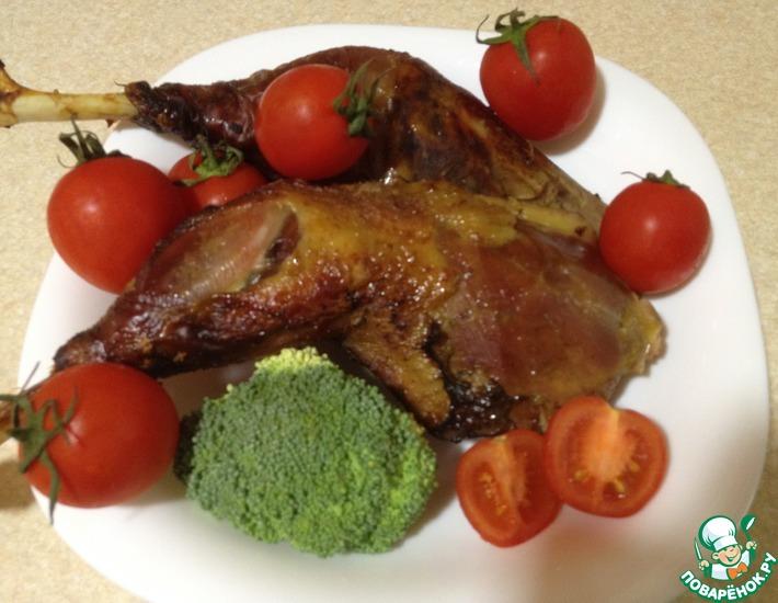 Рецепт: Медово-соевый маринад для куриного мяса