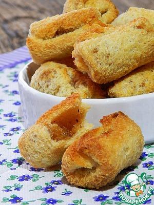 Рецепт Быстрый и вкусный хлебный десерт